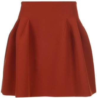 Givenchy Mini Peplum Skirt