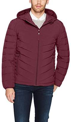 Andrew Marc Men's Delavan Ultra Stretch Packable Hooded Jacket