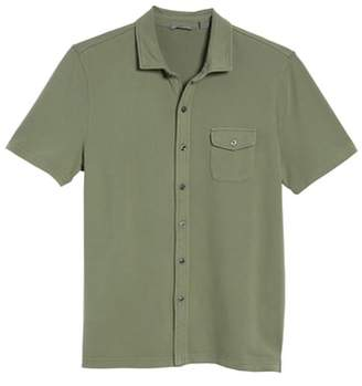 Michael Bastian Garment Dyed Military Shirt