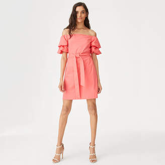 Club Monaco Arnar Off-the-Shoulder Dress