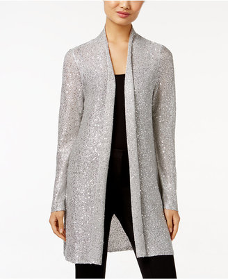 Alfani Sequined Duster Cardigan, Only at Macy's $79.50 thestylecure.com