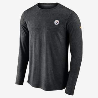 Nike Dri-FIT Coach (NFL Steelers) Men's Long Sleeve Football Top