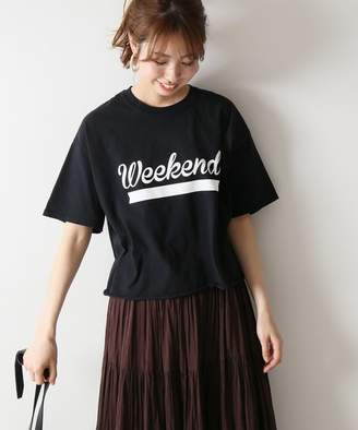 Spick and Span (スピック アンド スパン) - Spick and Span ≪予約≫【FUNG】Tシャツ(Weekend)◆