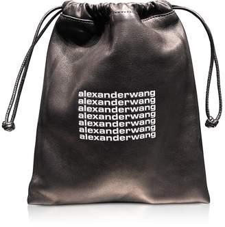 Alexander Wang Black Lambskin Ryan Mini Dustbag