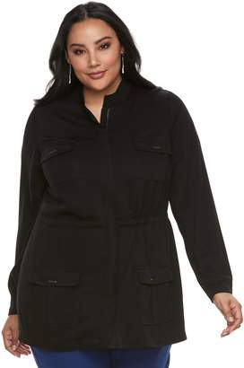 Apt. 9 Plus Size Utility Jacket