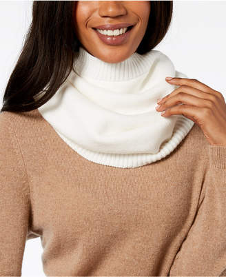 DKNY Ribbed-Knit Snood Neckwarmer, Created for Macy's