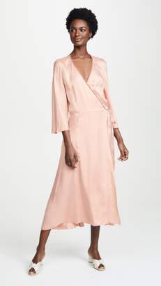 Forte Forte Satin Crossover Dress