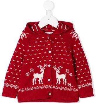 Ralph Lauren Holiday hooded cardigan