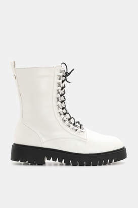 KENDALL + KYLIE Ardene Kendall & Kylie Braided Chain Combat Boots