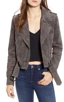 Blank NYC BLANKNYC Morning Suede Moto Jacket