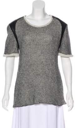 IRO Knit Short Sleeve Top
