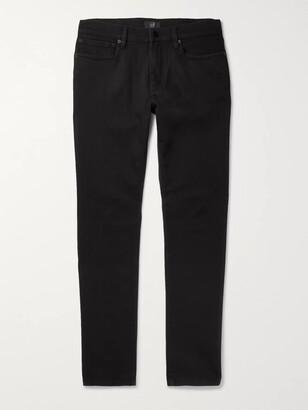 Dunhill Slim-Fit Stretch-Denim Jeans - Men - Black