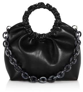 Aqua Ruffled Circle Handle Bag - 100% Exclusive