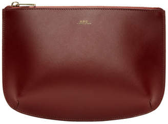 A.P.C. Red Sarah Pouch