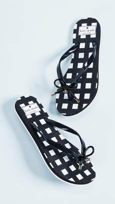 Kate Spade Nova Printed Flip Flops