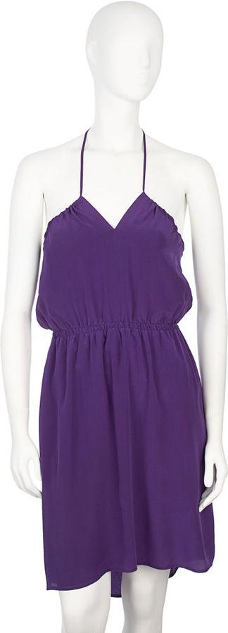 Geren Ford Halter Dress - Purple