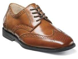 Florsheim Toddler's& Kid's Reveal Wing-Tip Jr. Leather Brogues