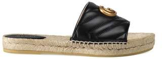 Gucci Leather espadrille sandal