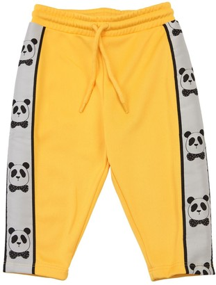 Mini Rodini SWEATPANTS W/ PANDA SIDE BANDS