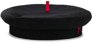 Ruslan Baginskiy Wool Stitch Cap in Black | FWRD