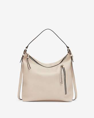 Express Soft Handle Zip Hobo Crossbody Bag