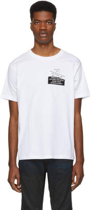 Diesel White T-Wallace-YA T-Shirt
