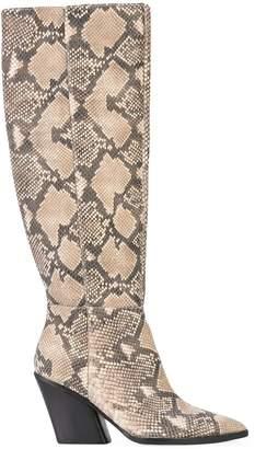 Dolce Vita Isobel python boots