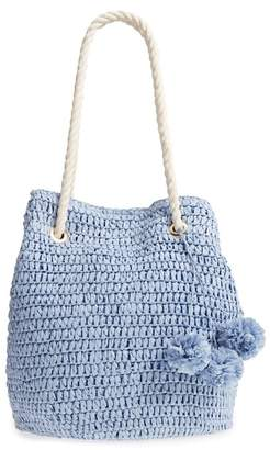 Tommy Bahama Mama Straw Bucket Bag