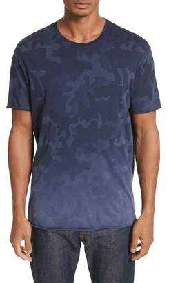 ATM Anthony Thomas Melillo Camo Print Crewneck T-Shirt