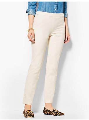 Talbots Chatham Ankle Pants-Ivory Button-Hem