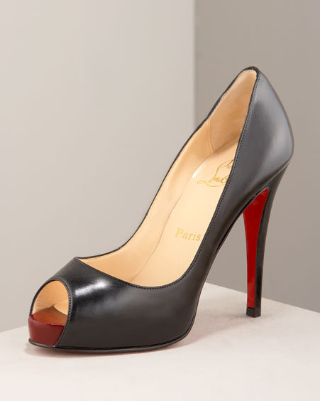 Christian Louboutin Very Prive Platform Pump