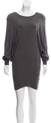 Altuzarra Dolman Sleeve Knit Dress Grey Dolman Sleeve Knit Dress