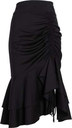Milly Short Drawstring Skirt