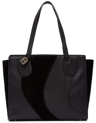 Anne Klein Julia Large Leather Tote Bag