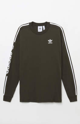 adidas Graphic Green Long Sleeve T-Shirt