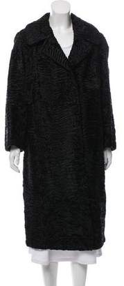 Saks Fifth Avenue Long Persian Lamb Coat
