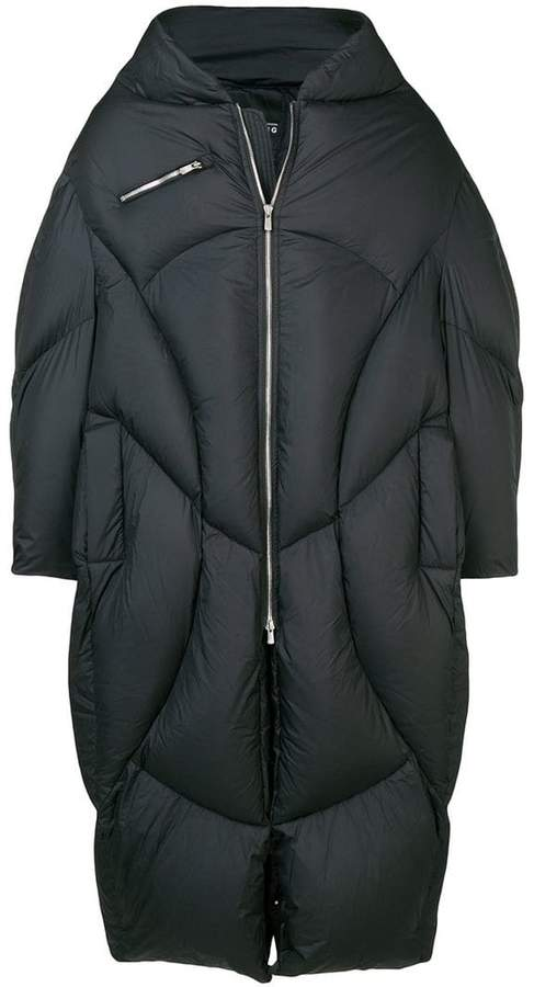 Chen Peng oversized padded coat
