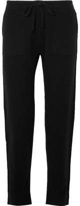 Vince Wool-blend Track Pants - Black