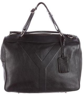 Yves Saint Laurent Leather Y Handle Bag $495 thestylecure.com