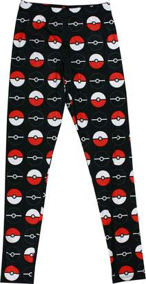 Pokemon Pokeball Womens Spandex Leggings