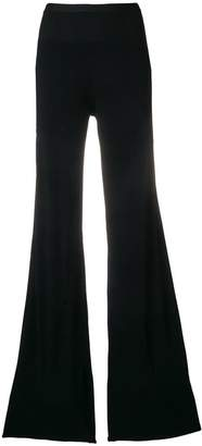 Rick Owens high-waisted flared trousers