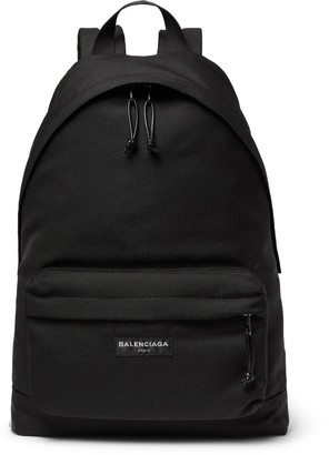 Balenciaga Explorer Nylon Backpack $825 thestylecure.com