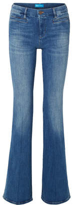 MiH Jeans Marrakesh High-rise Flared Jeans - Mid denim