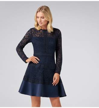 Ever New Marion Spliced Lace Dress