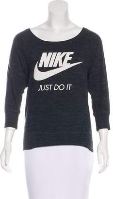 Nike Scoop Neck Logo Top