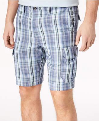 """Tommy Bahama Men's Marina Bay Plaid 10"""" Cargo Shorts"""
