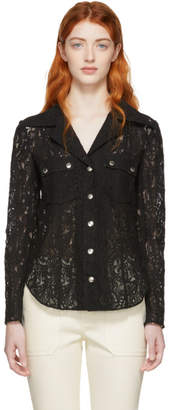 Chloé Black Lace Shirt