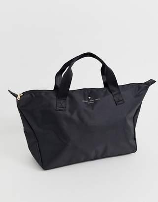 Johnny Loves Rosie medium weekender tote bag in black