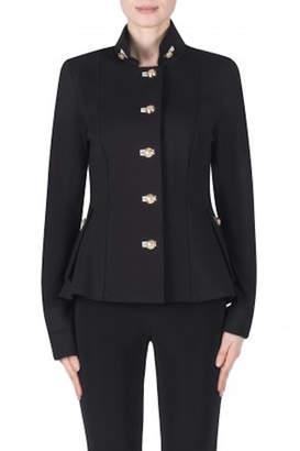 Joseph Ribkoff Black Military Jacket