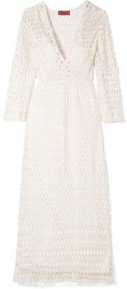 Missoni Crochet-knit Midi Dress - Ivory